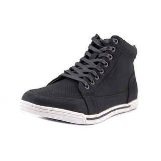 Kenneth Cole Reaction Short Cut Men Round Toe Synthetic Black Sneakers