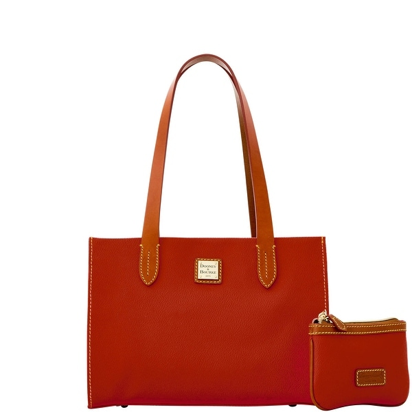 Dooney & Bourke Eva Small Shopper W Med Wristlet (Introduced by Dooney & Bourke at $228 in Feb 2016) - Red