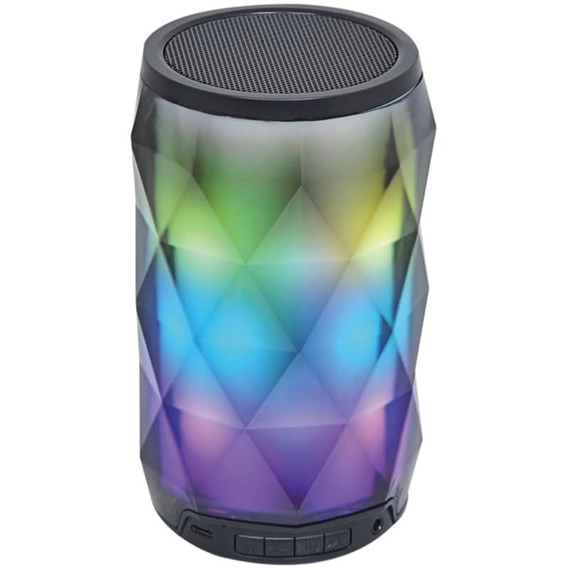 Shop SYLVANIA(R) SP681 Portable Bluetooth(R) Diamond Speaker with  Color-Changing Lights & Touch Control - Overstock - 25479887