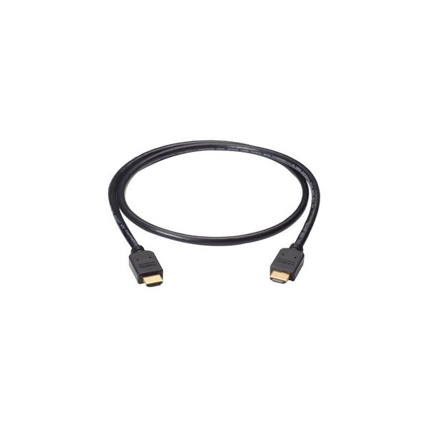 Black Box VCB-HDMI-005M Black Box Premium High-Speed HDMI Cable with Ethernet, Male/Male, 5-m (16.4-ft.) - HDMI for Audio/Video