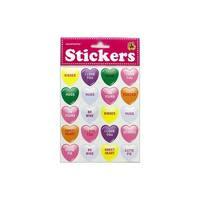 Heartnotes Sticker Hearts Conversation