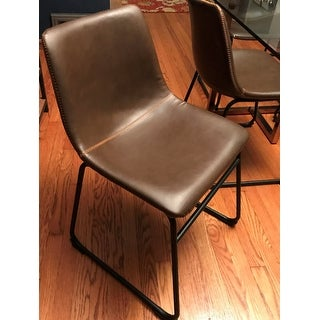 Carbon Loft Inyo PU Leather Dining Chairs (Set of 2)