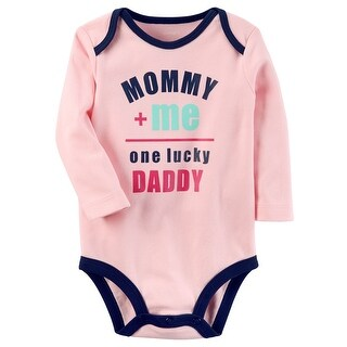 Carter's Baby Girls' One Lucky Daddy Collectible Bodysuit