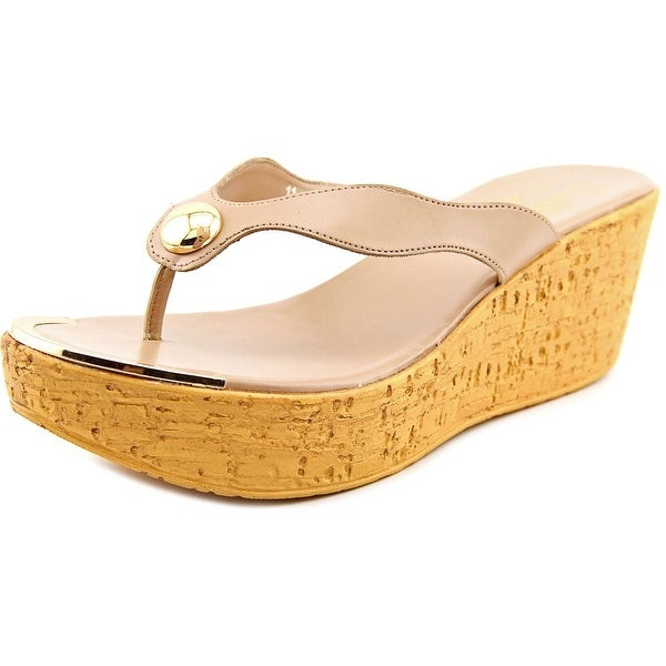 Callisto Button Nude Sandals