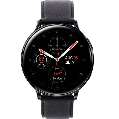 Samsung Galaxy Watch Active2 Bluetooth Smartwatch 44mm Stainless Steel - 44 mm
