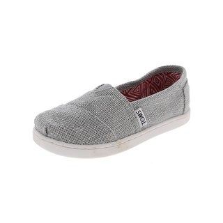Toms Girls Classic Casual Shoes Metallic Loafer