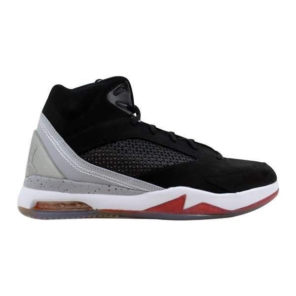 timeless design 6e001 0bce3 Nike Men  x27 s Air Jordan Flight Remix Black Electric Orange-Wolf