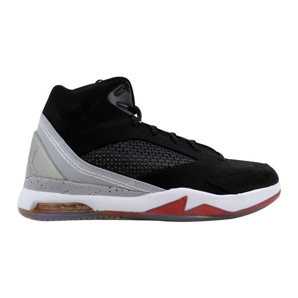 new arrival 20402 5388c Nike Men s Air Jordan Flight Remix Black Electric Orange-Wolf Grey-Fusion  Pink ...