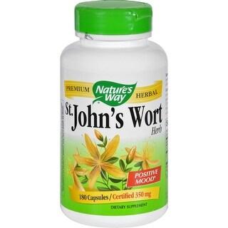 Nature's Way St John's Wort Herb - 180 Capsules