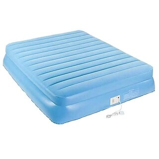 "Aerobed 9221 18.5"" Raised Twin Size Inflatable Air Bed Mattress - Blue"