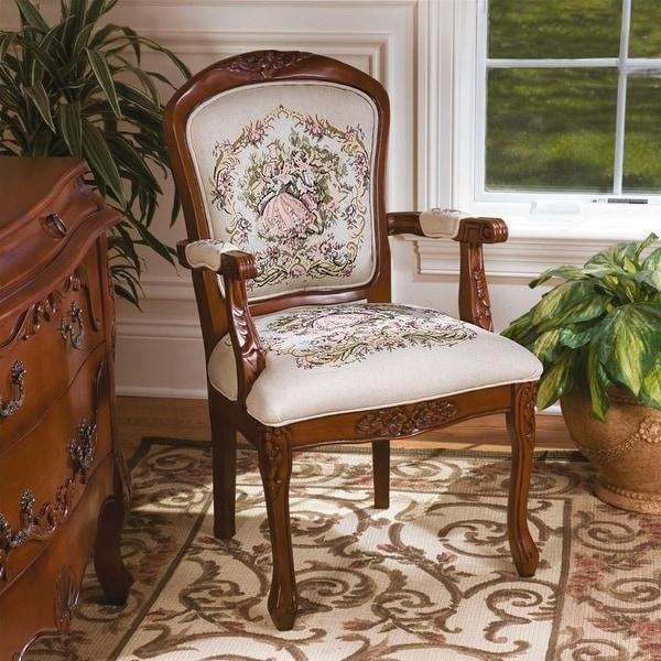 Gratis 2 Fauteuils.Shop Design Toscano La Danse Du Printemps Fauteuil Chair Set Of Two