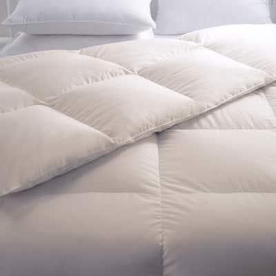 Unbleached Organic Cotton Comforter 233 Thread Count by Cozy Classics