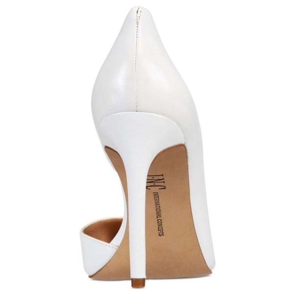 INC International Concepts Womens Kenjay Suede Pointed Toe D-orsay Pumps
