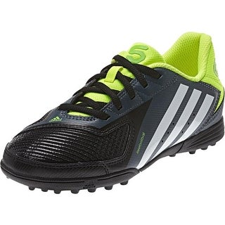 Adidas Boys Faux Leather Soccer Shoes - 13