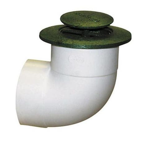 NDS 422G Pop-Up Drainage Emitter With 90 Degree Elbow, 4""