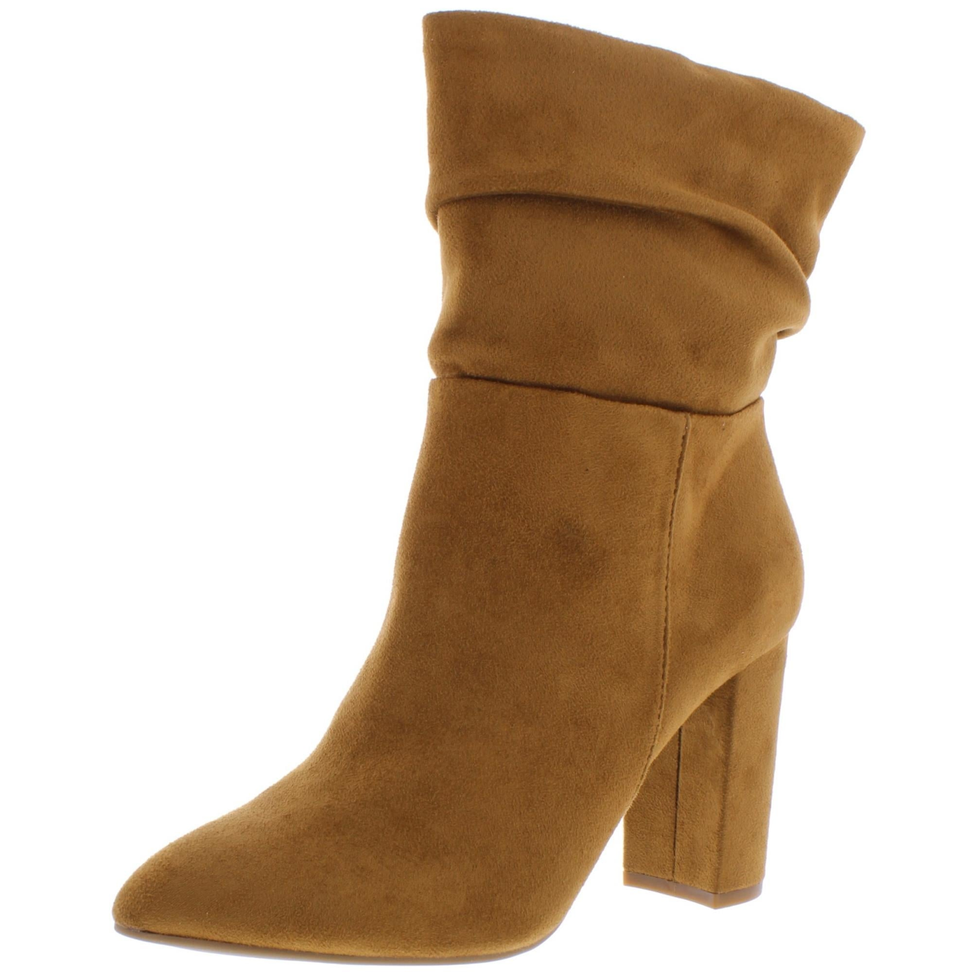 womens suede dress boots