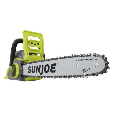 Sun Joe iON 40V Cordless 16in Chainsaw with Brushless Motor - 1