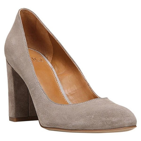 7a1f5598acf9 Shop Sarto by Franco Sarto Women s Aziza Pump Warm Stone Suede ...
