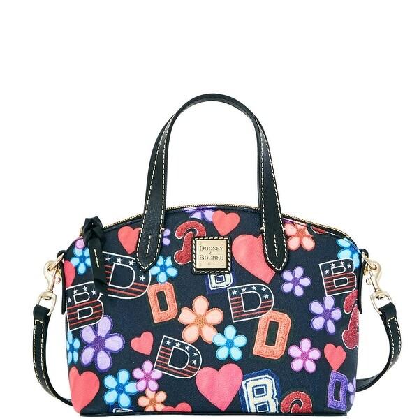 Dooney & Bourke Varsity Ruby Bag (Introduced by Dooney & Bourke at $158 in Sep 2016) - Black
