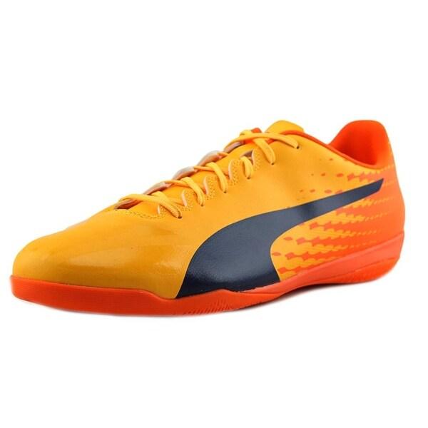 Puma evoSPEED 17.4 IT Men Yellow-Peacoat-Orange Cleats