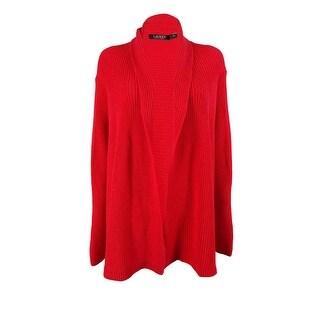 Ralph Lauren Women's Open Front Cardigan Sweater