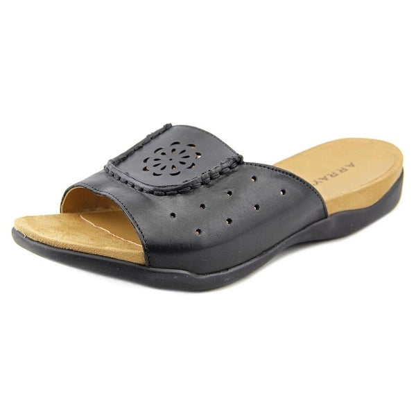 Array Sand Dollar Women N/S Open Toe Leather Slides Sandal