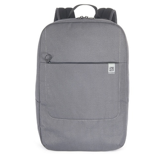 """Tucano Loop Water Resistant Notebook Backpack With Multi Pockets For Laptops Up To 15.6"""""""
