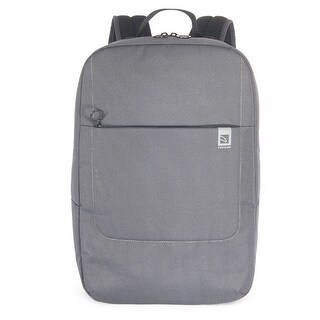Tucano Loop Water Resistant Notebook Backpack With Multi Pockets For Laptops Up To 15.6""