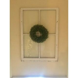 Pure Garden Boxwood Wreath - 14 inch Round