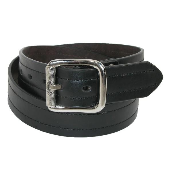 Dickies Men's Leather Reversible Industrial Strength Work Belt