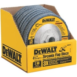 """DeWalt 4-1/2"""" 80 Grit Flap Disc"""