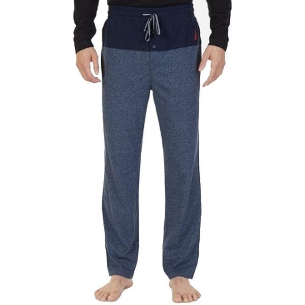 Nautica Mens Drawstring Stretch Lounge Pants Sleepwear