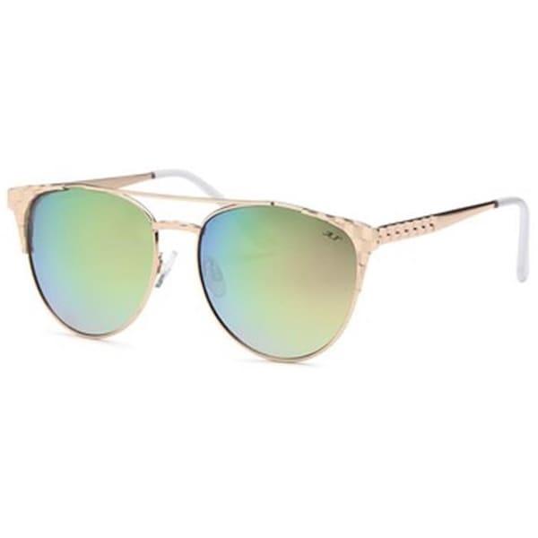 3d9fab968a4 Shop Mia Nova MN2017-116 PINK Retro Semi-Round Style Sunglasses ...