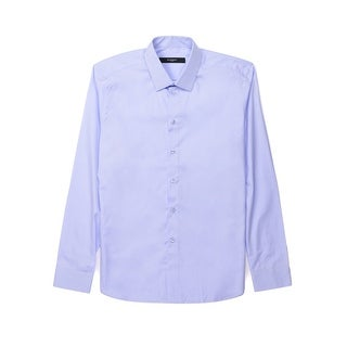 Givenchy Mens Light Blue W/ Sleeve Button Down