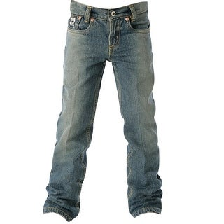 Cinch Western Denim Jeans Boys Regular 5 Pocket Lowrise MB10182001