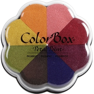 Colorbox Pigment Petal Point Ink Pad 8 Colors-Sunset