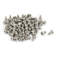 M2.9x6.5mm 304 Stainless Steel Y Type Drive Pan Head Self Tapping Screw 80pcs
