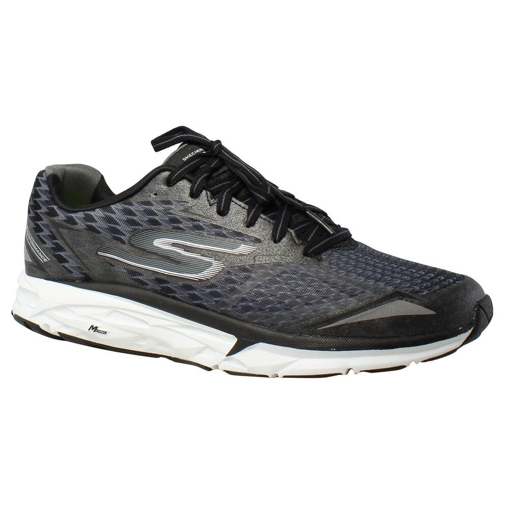Skechers Mens Forza 2 BlackWhite Running Shoes Size 8