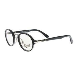 Persol PO3128V 95 Black Round Optical Frames - 44-22-145