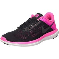 Nike Womens flex 2016 rn Low Top Lace Up Running Sneaker