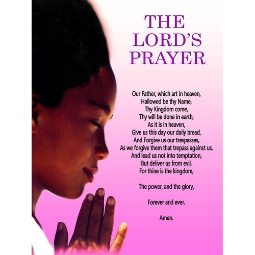 The Lord's Prayer Poster Girls (18x24)