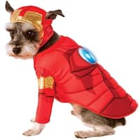 Marvel Deluxe Iron Man Dog Costume - Small
