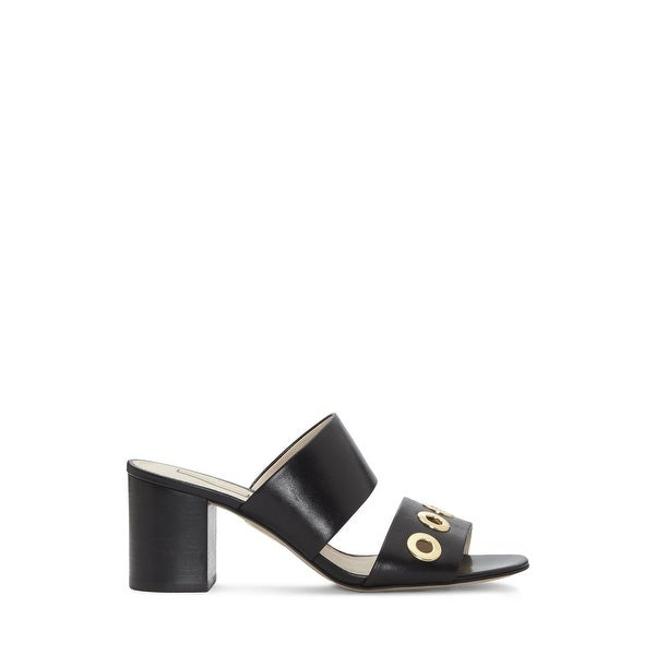 Louise Et Cie Womens Kamea Leather Open Toe Casual Slide Sandals
