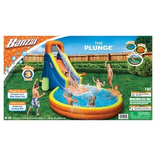 Link to The Plunge Water Park Slide/Pool - Orange Similar Items in Outdoor Play
