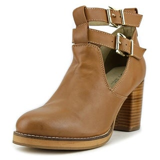 Seychelles Maximum Women  Round Toe Leather  Bootie