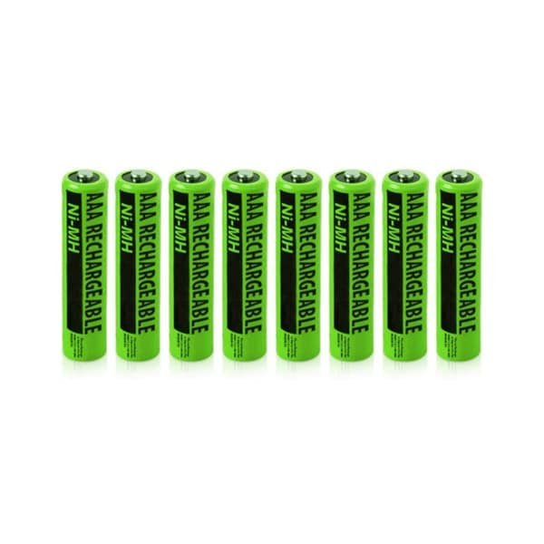 NiMH AAA Batteries (8-Pack) NiMh AAA Batteries 4-Pack