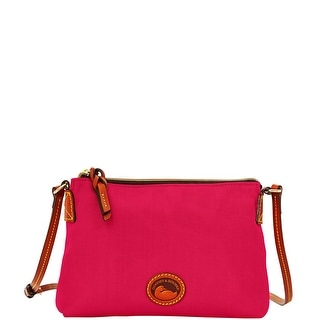 Dooney & Bourke Nylon Crossbody Pouchette (Introduced by Dooney & Bourke at $69 in Oct 2014) - Pink