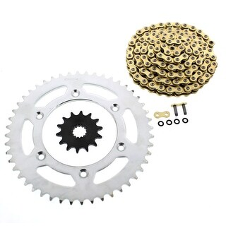 2012-2014 KTM 350 EXC-F 350 CZ ORHG Gold X Ring Chain and Sprocket 14/48 120L