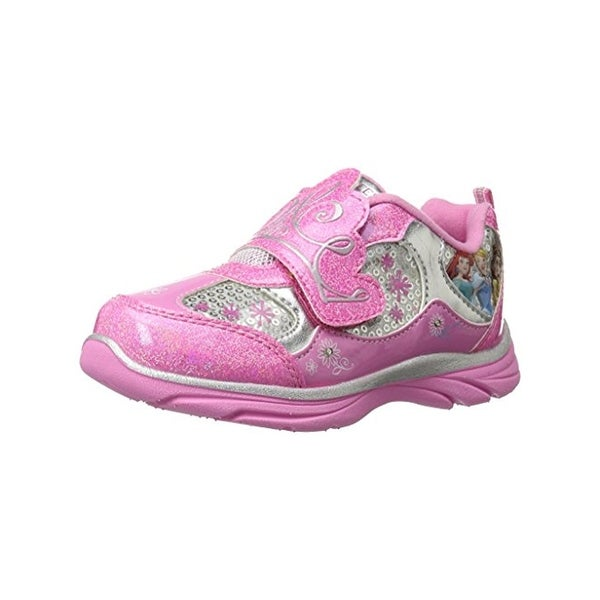 Disney Girls Princess Fashion Sneakers Light Up