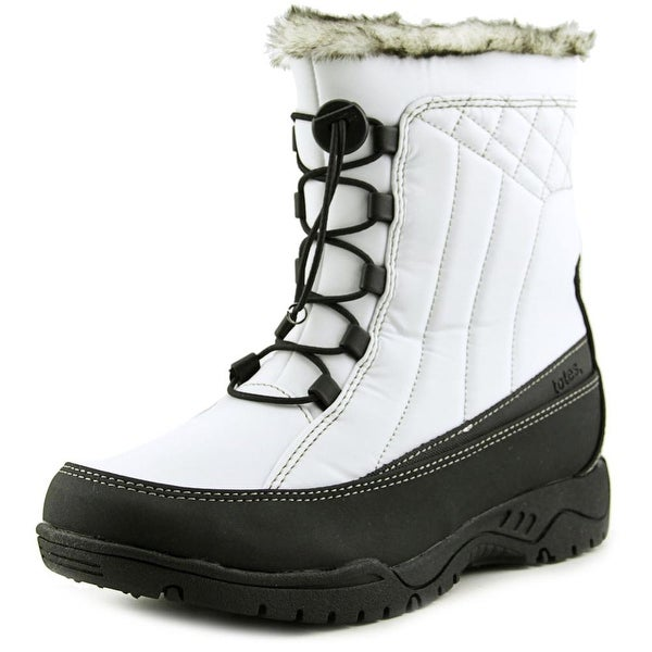 Totes Barbara Women White Snow Boots